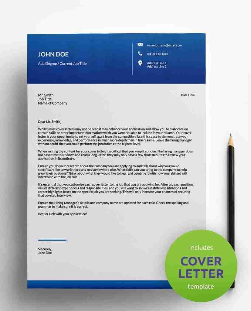 cv designs - gallant blue