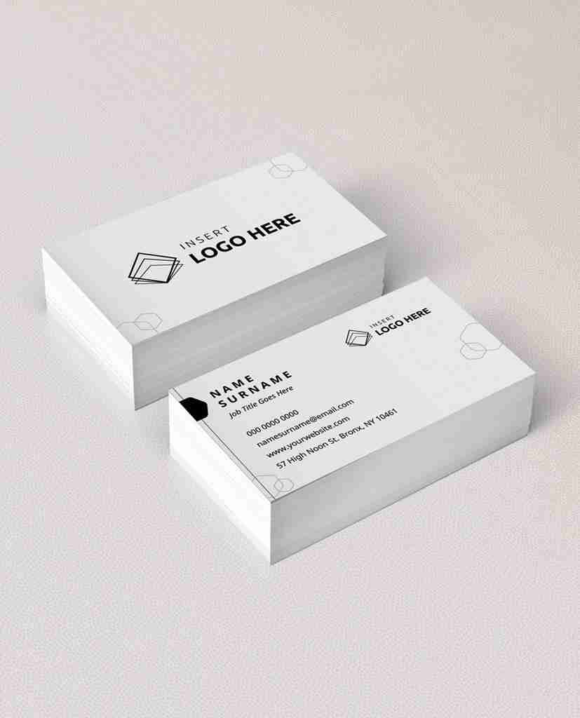 Free Business Card Template Pdf: Business Card Download Templates